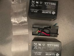Cyberpower 1350 Battery Pack Disassembled